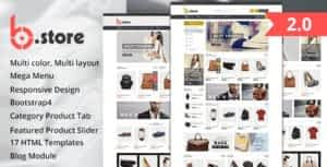 Fashion Store HTML Template – BStore
