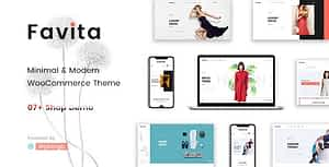Favita – Fashion WooCommerce WordPress Theme