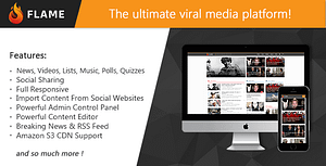 Flame – News, Viral Lists, Quizzes, Videos, Polls and Music
