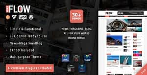 Flow News – Magazine and Blog WordPress Theme