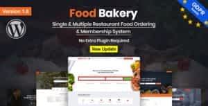 FoodBakery   Food Delivery Restaurant Directory WordPress Theme