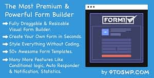 Formi – The Most Premium & Powerful WordPress Form Builder Plugin