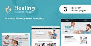 Healing : Physical Therapy HTML Template