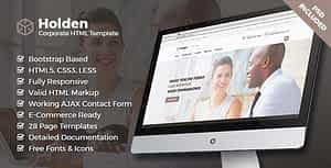 Holden Corporate HTML Template
