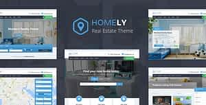 Homely – Real Estate WordPress Theme