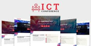 ICT – Conference HTML Template