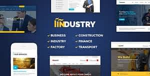 Industry – Factory, Construction WordPress Theme
