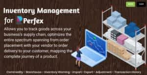 Inventory Management for Perfex CRM