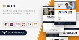 Kroth – Business/Consulting WordPress Theme