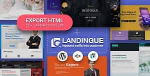 Landingue – Landing and One Page Builder Plugin for WordPress Site