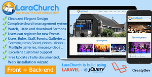 LaraChurch 2.0 – Complete Church Management System