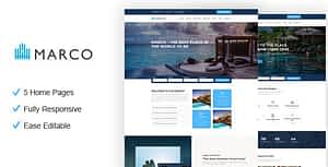Marco – Resort and Hotel HTML Template