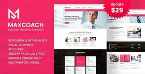 Maxcoach – Business Consulting WordPress Theme
