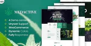 Medactive – Medical Marijuana Dispensary WordPress Theme