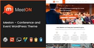 Meeton – Conference & Event WordPress Theme