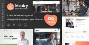 Mentry – Loan and Financial WordPress Theme
