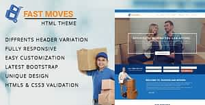 Download Mover – Company HTML Template