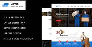 Movers – Company HTML Template