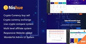 Nishue – CryptoCurrency Buy Sell Exchange and Lending with MLM System | Live Crypto Compare