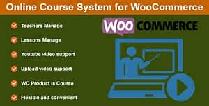 Online Course System for WooCommerce