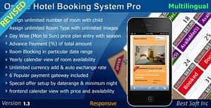 Online Hotel Booking System Pro PHP Script