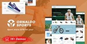 Ornaldo | Sport Shop WooCommerce WordPress Theme