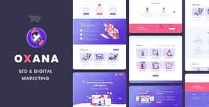 Oxana – SEO & Digital Marketing HTML Template