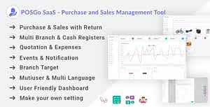 POSGo SaaS – Purchase and Sales Management Tool