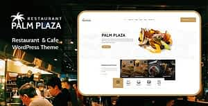 Palmplaza – Restaurant & Cafe WordPress Theme