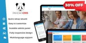 Pandao CMS Pro 4 – Fully Responsive Content Management System