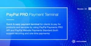 PayPal PRO Payment Terminal PHP Script