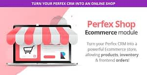 Perfex Shop – Sell your Products and Services with Inventory Management and Point Of Sale