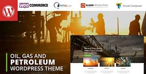 Petroleum – Oil and Gas Industrial WordPress theme