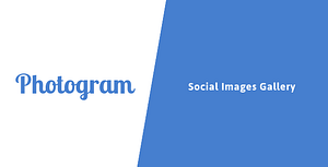 Photogram – Social Images Gallery