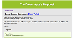 Powerful PHP Helpdesk/ Support Ticket System