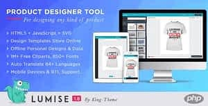 Product Designer for PHP Standalone | Lumise