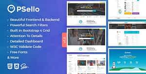 Psello – Classified listing HTML Template