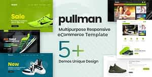 Pullman – Shoes Store HTML Template