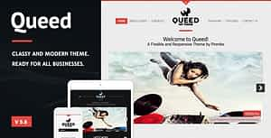 Queed – Business WordPress Theme