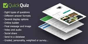 Download Free QuickQuiz – WordPress Plugin