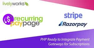 Recurring PayPage – PHP Ready to Integrate Payment Gateways for Subscriptions