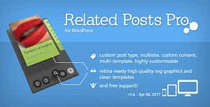 Related Posts Pro for WordPress – Related Content Plugin