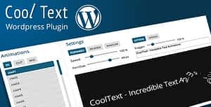 Responsive WordPress Text Effects and Rotator