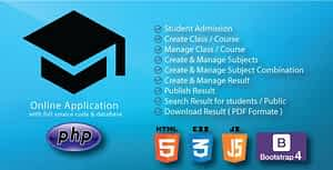 Result Management & Publish System PHP-MySql with full source code 2020