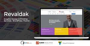 Revaldak – Printing Services WordPress Theme