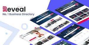 Reveal – Business Directory & Listings HTML Template