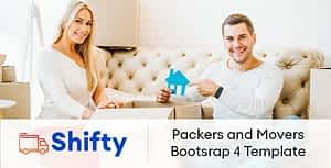 Shifty- Packers and Movers HTML Template