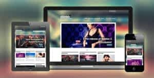 Stereo Squared – Responsive Music HTML template