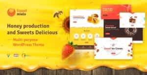 SweetMielo – Honey Production and Sweets Delicious WordPress Theme