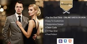 The Alteration Shop  – HTML Template for Tailors